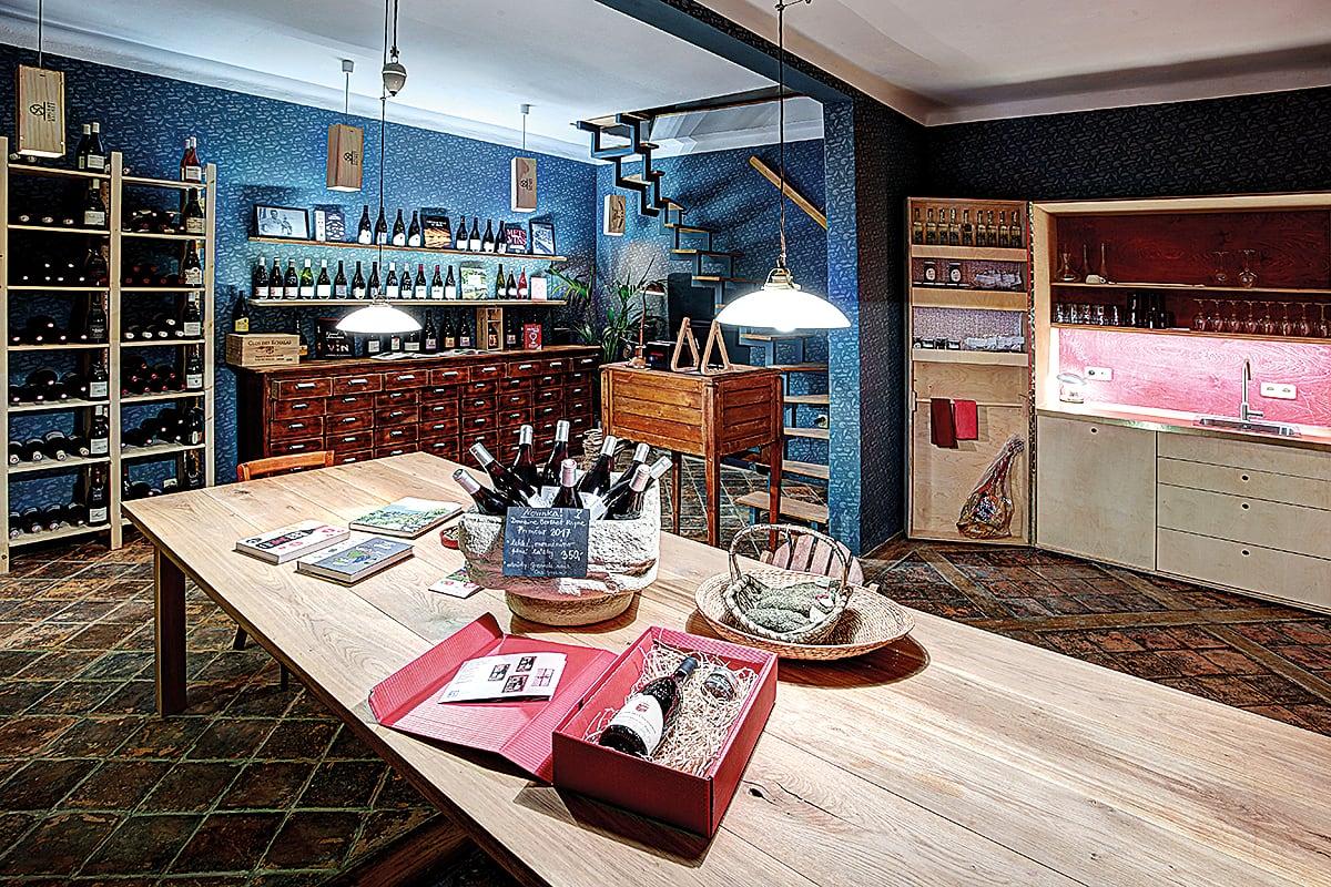 Na břehu Rhôny - Vinný bar Dejvice