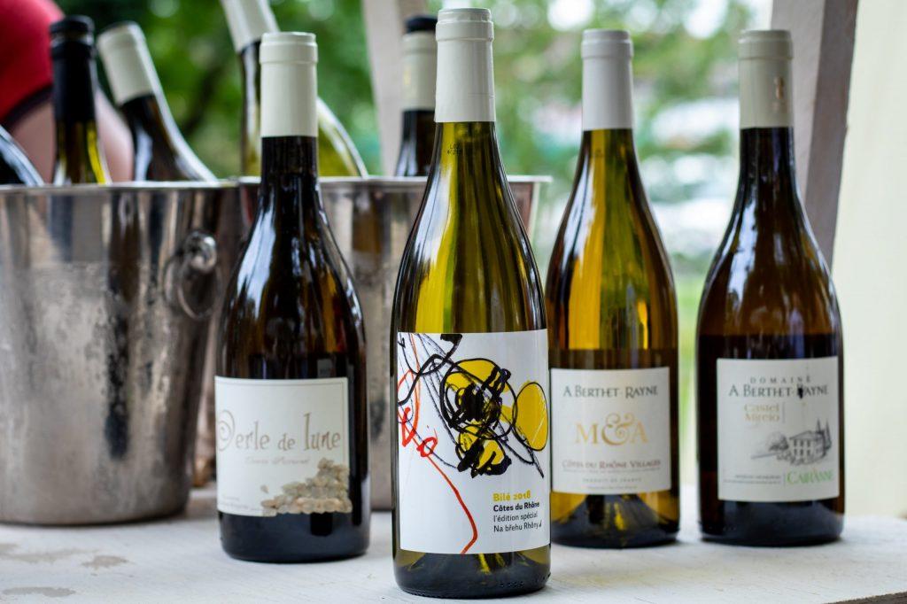 Speciální edice vína Na břehu Rhôny