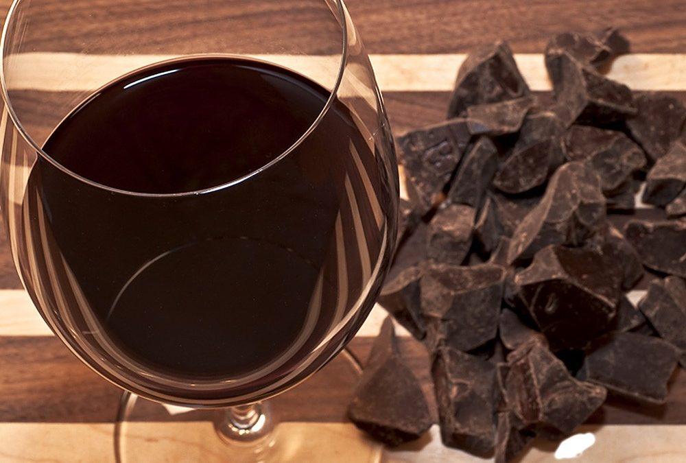 Snoubení vína a čokolády v Karlíně