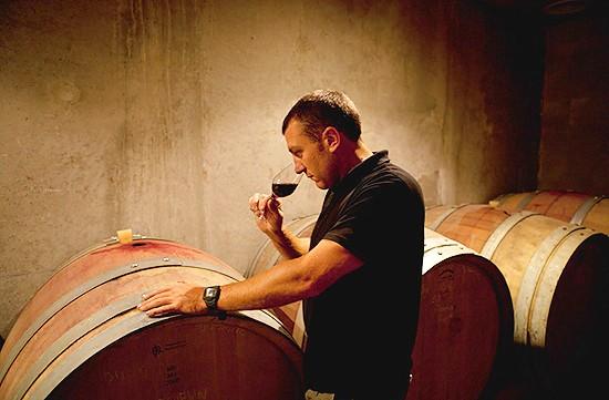 Degustace vín Domaine La Florane a Echevin