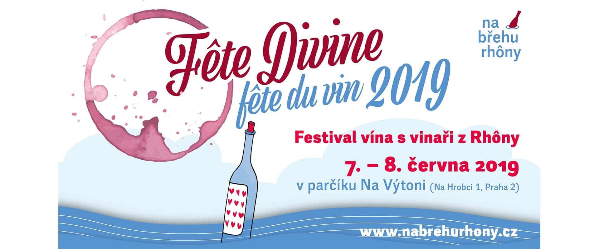 festival vína s vinaři z Rhôny 2019