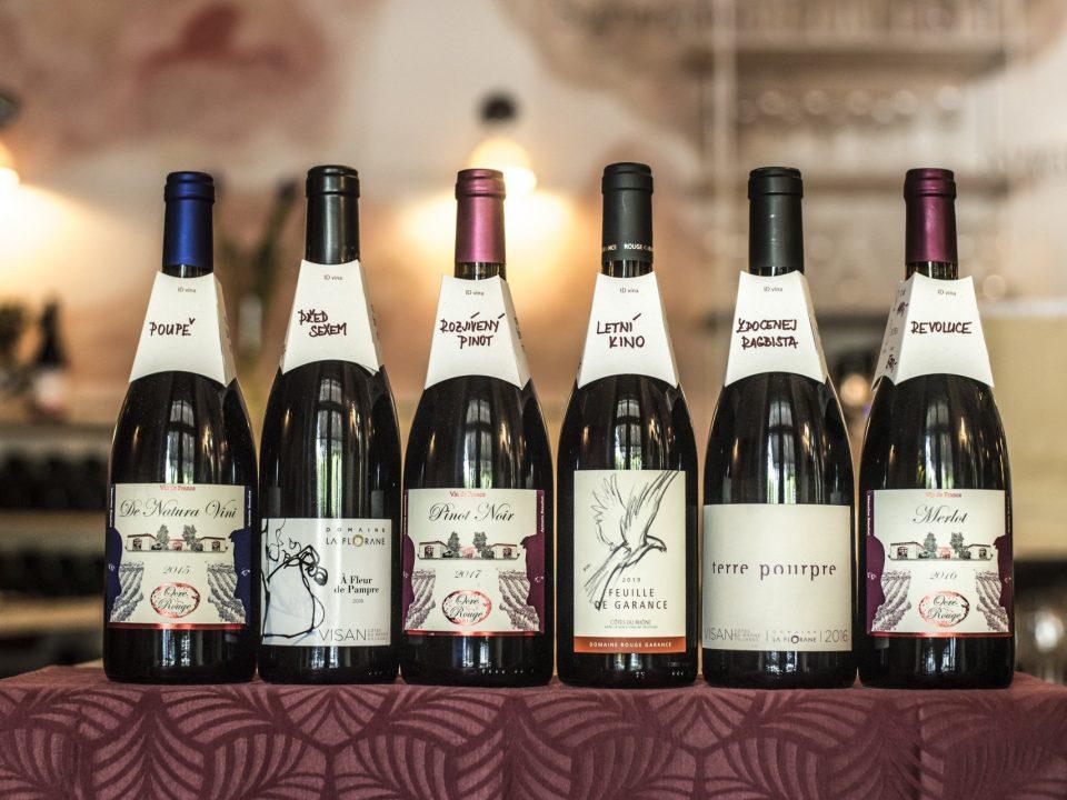 Nové kolárky na lahvích a ID vín
