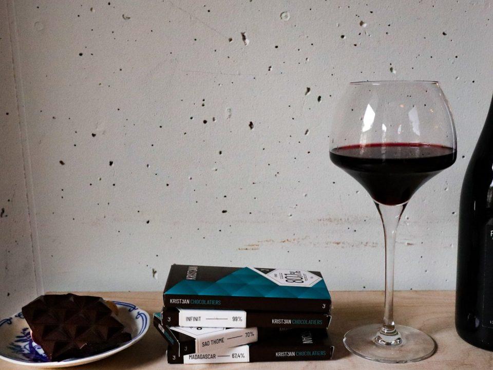 degustace vino a čokoláda